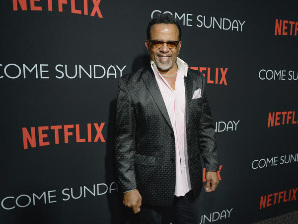 Bishop Carlton Pearson attends a special Los Angeles screening of <em>Come Sunday</em>, which is based on his life.