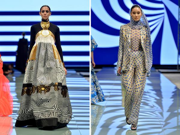 Jean Paul Gaultier was one of the big designers to participate in Saudi Arabia's first Arab Fashion Week in Riyadh.