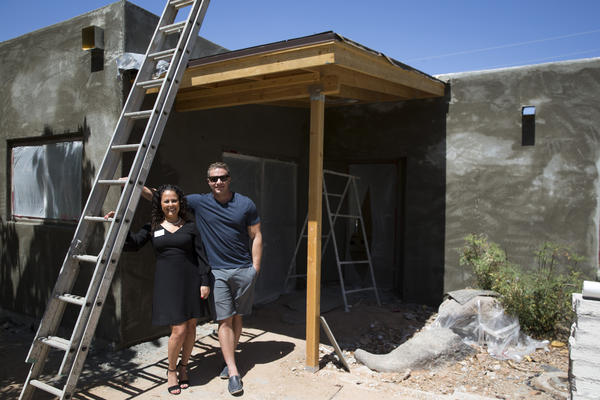 Realtor Lauren Rosin and investor Brad Pickett work together flipping homes in Phoenix. More than 8,500 homes sold in the Phoenix metropolitan area last year were flips, more than anywhere else in the country.
