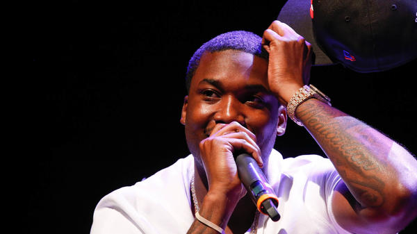 Meek Mill in 2015. In a hearing today, April 16, 2018, the Philadelphia District Attorney's Office voiced its support for the rapper receiving a new trial over a 2007 drug and guns case. His judge, however, has so far been unwilling to consider any legal dispensations.
