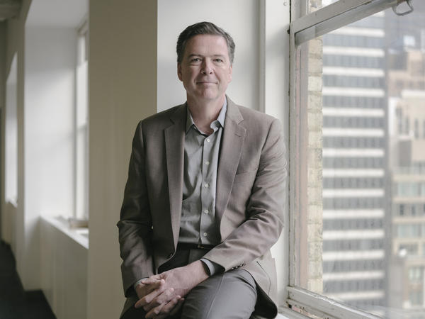 Former FBI Director James Comey's new book is called <em>A Higher Loyalty: Truth, Lies, And Leadership</em>.