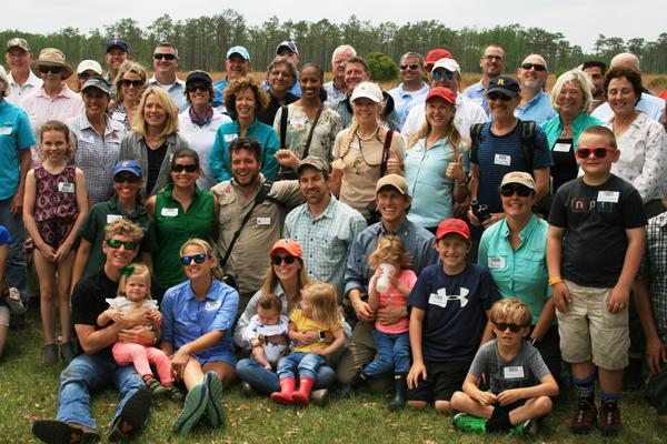 Supporters gather at the Disney Wilderness Preserve