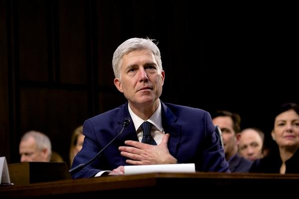 Supreme Court Justice Neil Gorsuch