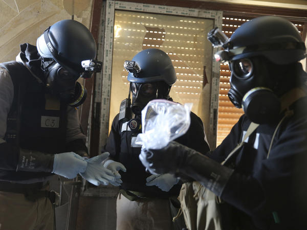 In 2013, chemical weapons inspectors working in the suburbs outside of Damascus were able to confirm the use of the nerve agent sarin.