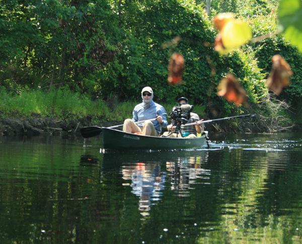 Carlton Ward Jr. paddles Reedy Creek