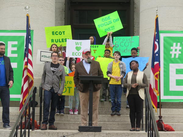ECOT's head, Bill Lager, has been a major political donor, and Dettelbach also questions if that has influenced the path of the investigation.