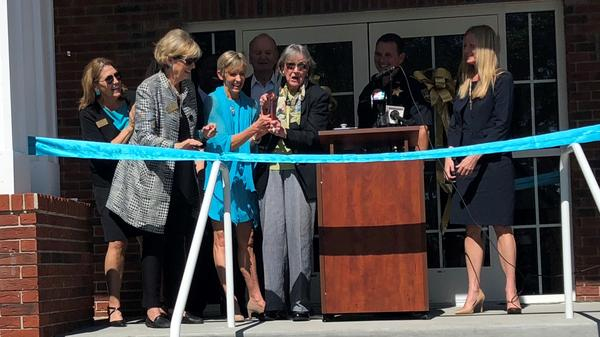 Monday was the ribbon cutting for the new  the Sexual Assault Forensic Exam Center on Emerson Street.