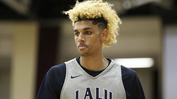 Brian Bowen recently declared for the NBA draft, despite not having played a game in college due to eligibility problems. An NCAA commission is recommending the NBA allow talented high school players to be drafted. Bowen is seen here playing for La Lumiere School in January 2017.