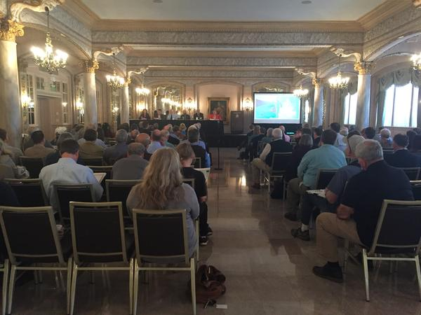 Roughly 150 people attended a public meeting hosted by the U.S. State Department. The meeting was meant to engage the public as the process to renegotiate the Columbia River Treaty with Canada gets underway.