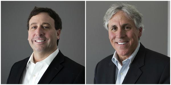 St. Louis County Executive Steve Stenger, left, faces challenger Mark Mantovani, right, in a race that has started earlier and featured more ad spending than usual.