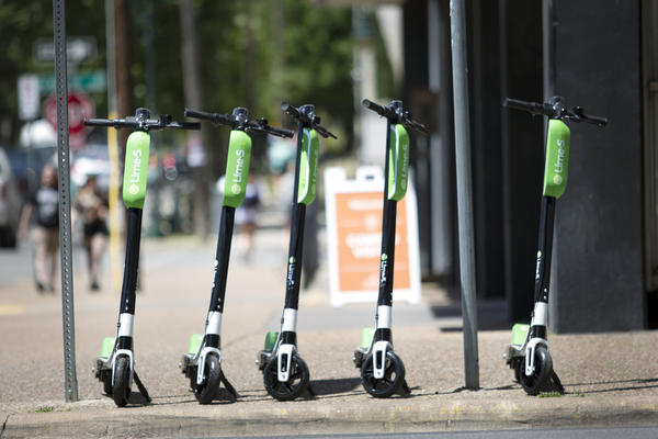 Dockless scooters started showing up on Austin streets this month
