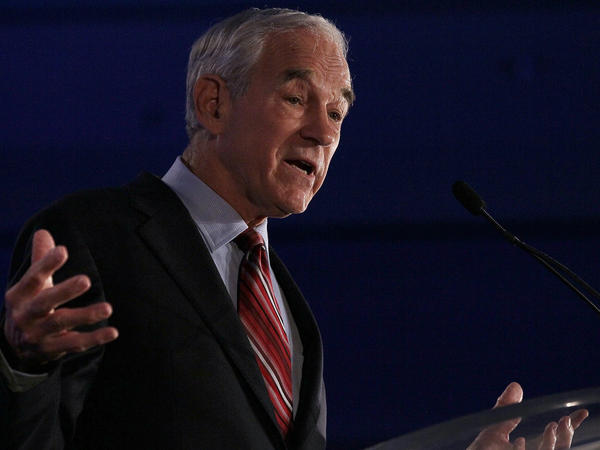 Rep. Ron Paul (R-TX), at the 2011 Republican Leadership Conference in New Orleans on June 17, 2011.