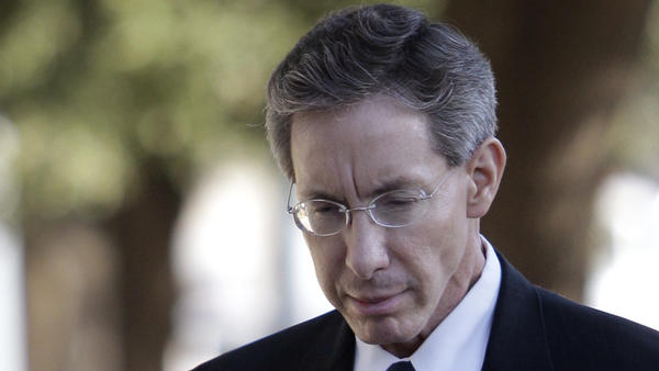 Warren Jeffs arrives at the Tom Green County Courthouse in San Angelo, Texas, on July 29, 2011.