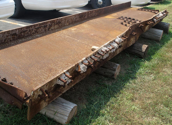 Officials in Rutherford County, Tenn., acquired a giant steel beam from the twin towers for a Sept. 11 memorial.
