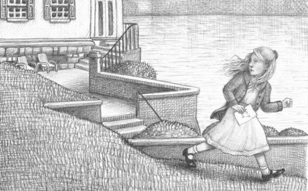 """<strong>A Wordless World: </strong>The story of Rose, a deaf little girl in Brian Selznick's <em>Wonderstruck</em>, is told primarily in pictures. """"We experience [Rose's] story in a way that perhaps might echo the way she experiences her own life,"""" Selznick explains."""