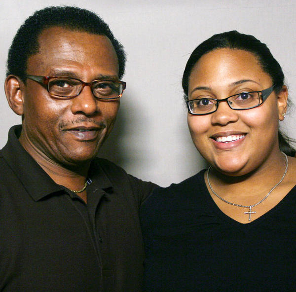 Earl B. Reynolds spoke with his daughter, Ashley Reynolds, in Roanoke, Va., about how a chance encounter with singer James Brown helped prod him into a new plan for his life.
