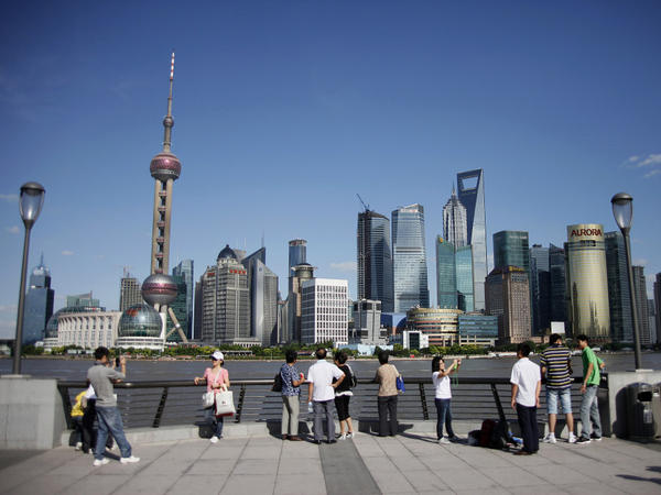 Earlier this year, Shanghai tried to slow down real estate sales by restricting some deals. It's part of a broader Chinese government plan to slow the country's staggering growth.