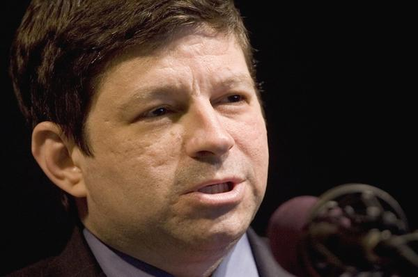 <p>Steve Novick, shown in 2008, was the campaign spokesman for measures 66 and 67, which passed in Oregon last fall. Novick says that Oregonians voted for the measures because they decided to protect public safety, social services — and the middle class. </p>