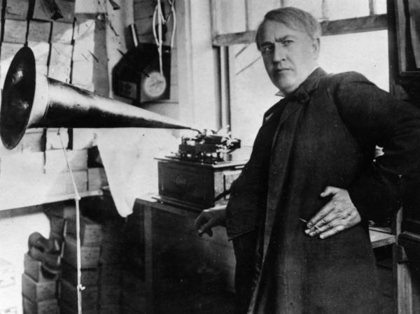 <p><strong></strong>Thomas Edison transformed American industry and culture with his inventions, such as the phonograph and the motion picture camera. He also developed a long-lasting electric light bulb and founded General Electric.</p>