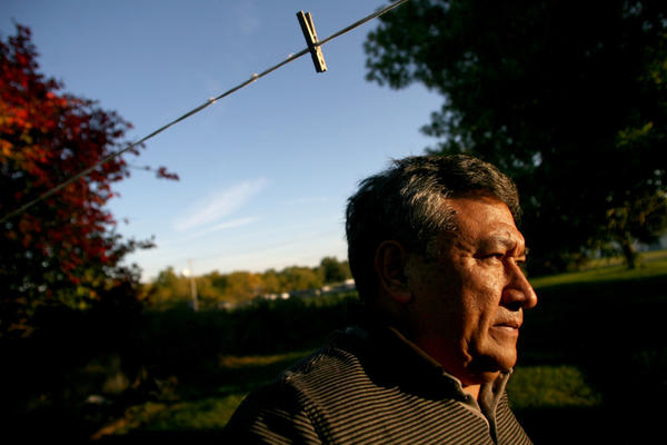 <p>Jose Zacarias lives in an old farmhouse flanked by corn and soybean fields near the edge of town. The Mexican-born immigrant came to West Liberty more than 25 years ago.</p>
