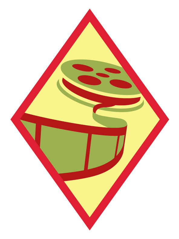 "<p>The ""Digital Movie Maker"" badge.</p>"