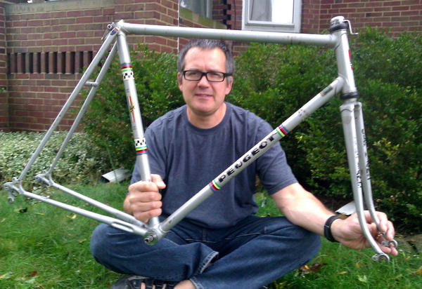 "<p>After ""prowling"" for-sale ads for years, Gill found the same bike he'd sold long ago.</p>"