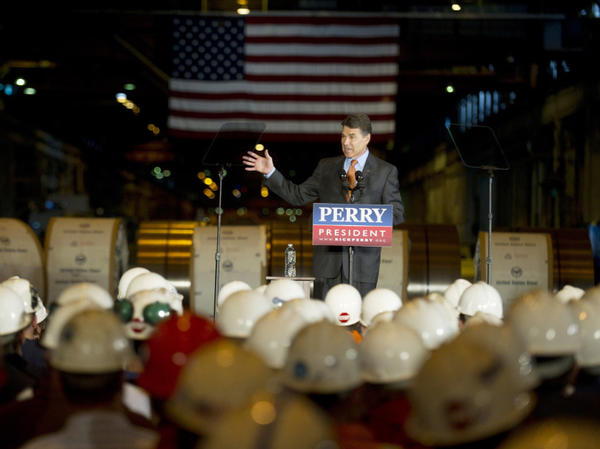 <p>Texas Gov. Rick Perry saw his fundraising numbers plummet after his September debate performances. </p>