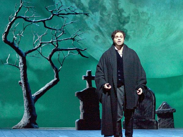 <p>Joseph Calleja as Edgardo in the Metropolitan Opera production of Donizetti's <em>Lucia di Lammermoor</em>. </p>
