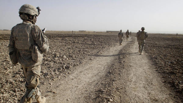 <p>Afghanistan's Panjwai district, southwest of Kandahar city, was a Taliban stronghold until the U.S. troop surge in 2010 began to displace the insurgents. </p>