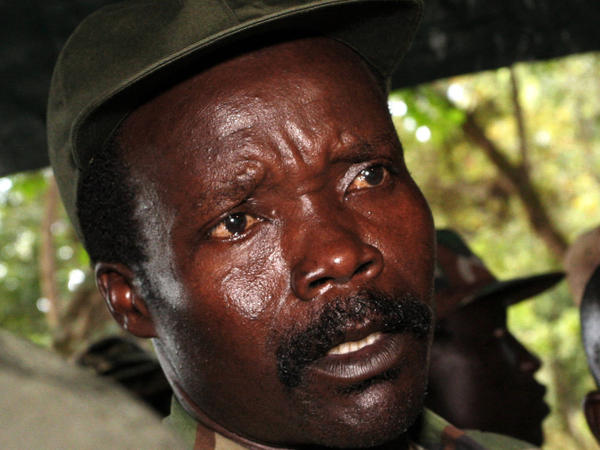 <p>The leader of the Lord's Resistance Army, Joseph Kony, is shown in 2006. He has fought against the Ugandan government for years. The U.S. is now sending 100 military advisers to central Africa to help regional armies fight against Kony's movement.</p>