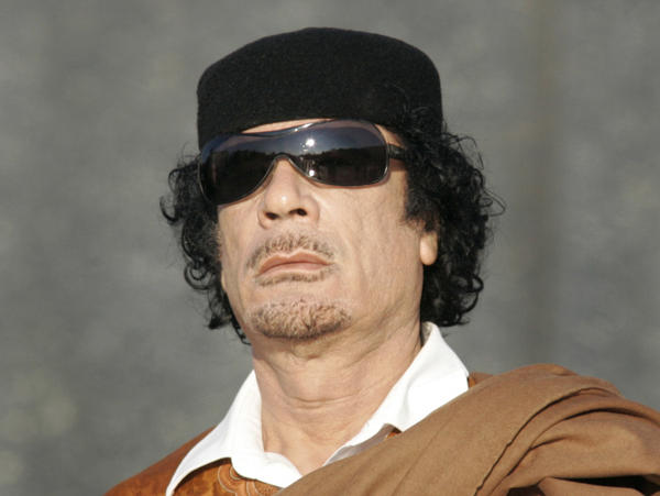 <p>Libyan leader Moammar Gadhafi, shown in a 2008 file photo, ruled Libya for 42 years. Libya's new leaders say he was killed Thursday in his hometown of Sirte.</p>