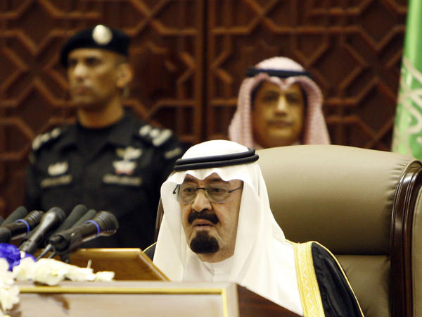 Saudi King Abdullah bin Abdulaziz al-Saud is seen in September 2011.
