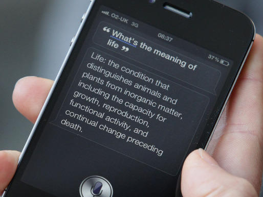 <p>Siri's answer to the meaning of life is actually kind of impressive.</p>