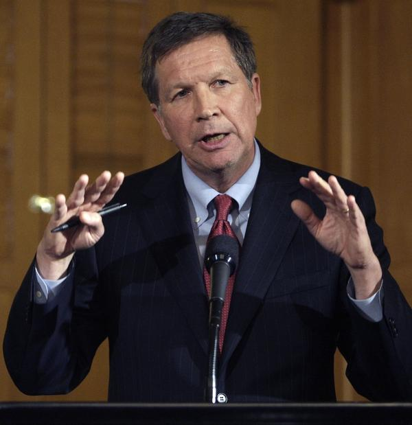 <p>In March, Gov. John Kasich signed into law Senate Bill 5. It would ban strikes by all of Ohio's 350,000 government workers, require all public employees to pay at least 15 percent of their health care premiums, and use merit to decide pay and layoffs. </p>