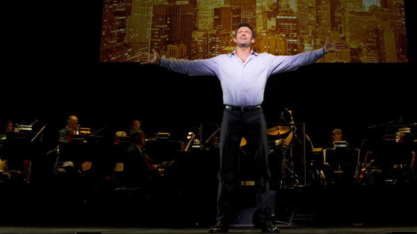 """<strong>Look Out, Jackman's Back:</strong> That's right, the set list for <em>Hugh Jackman, Back on Broadway</em> includes a run at """"Mack the Knife."""""""
