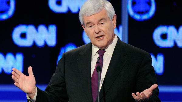 At a Republican presidential debate in Las Vegas last month, Newt Gingrich got zinged by rival Mitt Romney for coming up with idea of an individual insurance mandate.