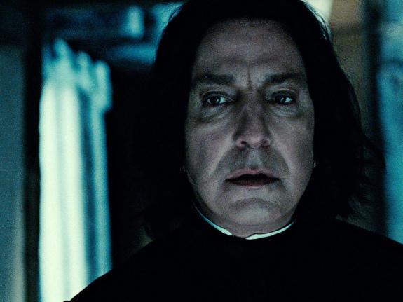 Alan Rickman has played Professor Severus Snape throughout the <em>Harry Potter </em>series.