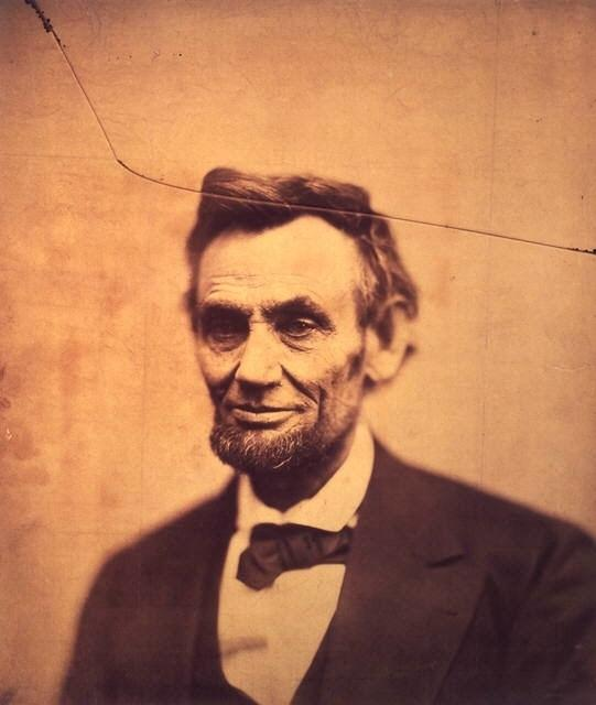 Alexander Gardner photographed President Abraham Lincoln in Washington, D.C., on the eve of his second inauguration. It was the last portrait taken of Lincoln before his assassination in April 1865 and it appears on the cover of <em>The Atlantic</em>'s commemorative Civil War issue.