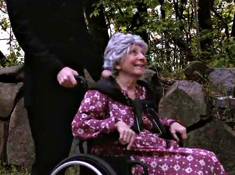 """A screen grab from """"America the Beautiful"""" by The Agenda Project. According to PolitiFact, videos like this one used elderly actors to falsely suggest that Rep. Paul Ryan's Medicare plan would adversely affect current senior citizens."""