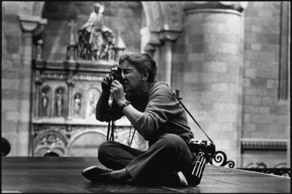 Eve Arnold on the set of <em>Becket</em>, 1963.