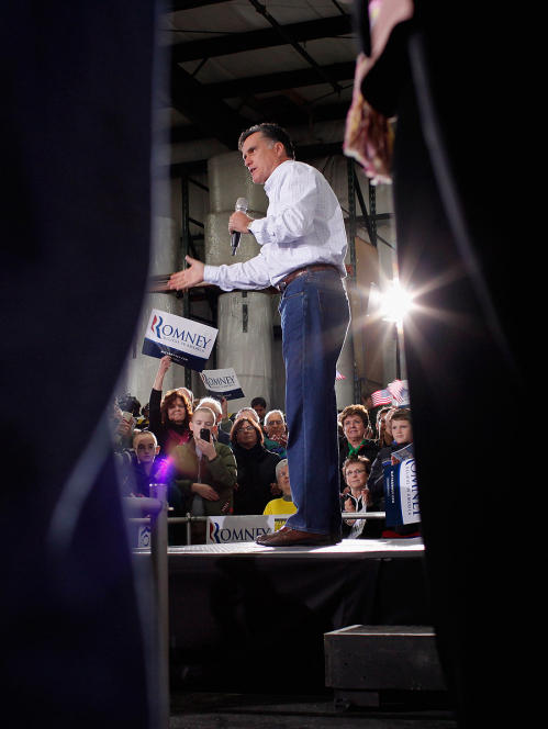 "Former Massachusetts Gov. Mitt Romney pleaded with his supporters at a rally Monday in Dubuque, Iowa, saying, ""I need every vote."" He did — winning the Iowa caucuses the next day by just eight votes."