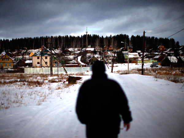 The Russian village of Sagra has been in the headlines since last summer, when residents — including 56-year-old Viktor Gorodilov (shown here) — successfully fought off an armed criminal gang that they say threatened their community. For many Russians, Sagra has become a symbol of how they say the government has let them down.