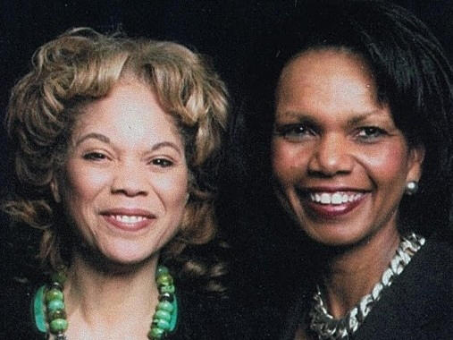 """We are very similar in many ways — but Connie is more driven than I am,"" says cousin Condoleeza Rice (right), laughing. ""She works<em> all</em>  the time."""