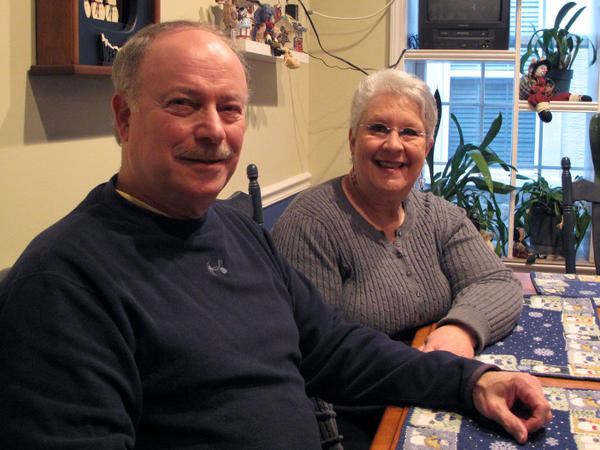 "If Jay and Bonnie Silverstein were able to refinance their mortgage, they could save nearly $500 a month. ""We're living paycheck to paycheck,"" Jay says."