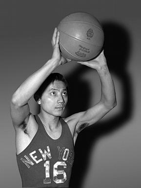 Wat Misaka played for the New York Knicks for only a short period of time — but he became the first non-Caucasian player in U.S. pro basketball.