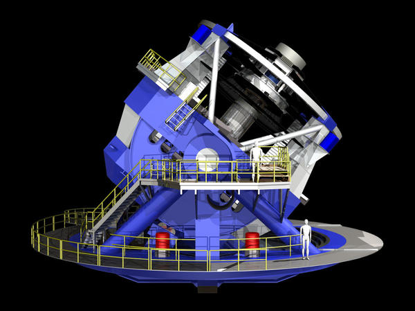The telescope's unique, compact design allows it to swivel very quickly to different parts of the sky. This gives astronomers the ability to capture images quickly.