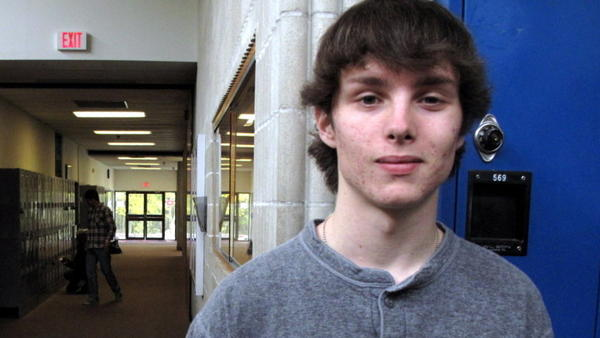 Connor Perruccello-McClellan, a senior at Providence Country Day School in Rhode Island, has been vaccinated against HPV, something less than 1 percent of U.S. males can say.