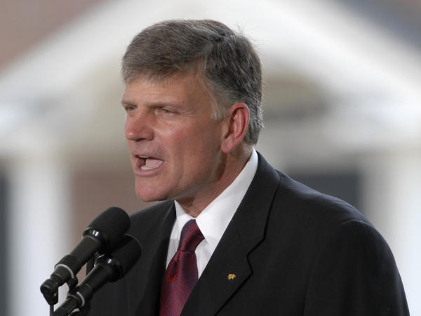 Rev. Franklin Graham in 2007.