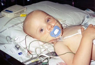 Before he was three years old, Grant Coursey underwent several surgeries for a cancerous tumor.