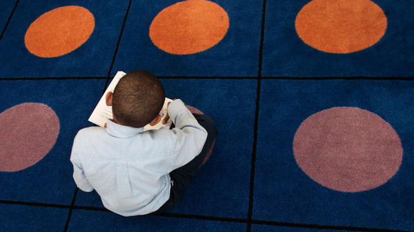 A student reads at a public elementary charter school in New York City. Educators like to say third grade is when students go from learning to read, to reading to learn.